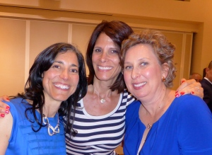 My college roommates, Heidi (L) and Sandra (R) who show me it's never too late to do what's important.