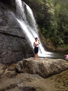 Scouting the beautiful and peaceful Silver Run Falls in North Carolina.