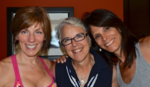 The oh-so-wise, Tricia, on the far left, along with the equally wonderful friend and teacher, Lori, in the middle.