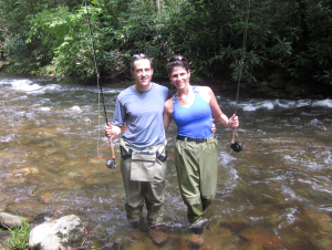 We haven't made it to those dance lessons yet, but have done tons of fun stuff like learning to fly fish.